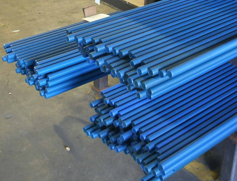 Galling Resistant Coated B Rods | Metal Coatings